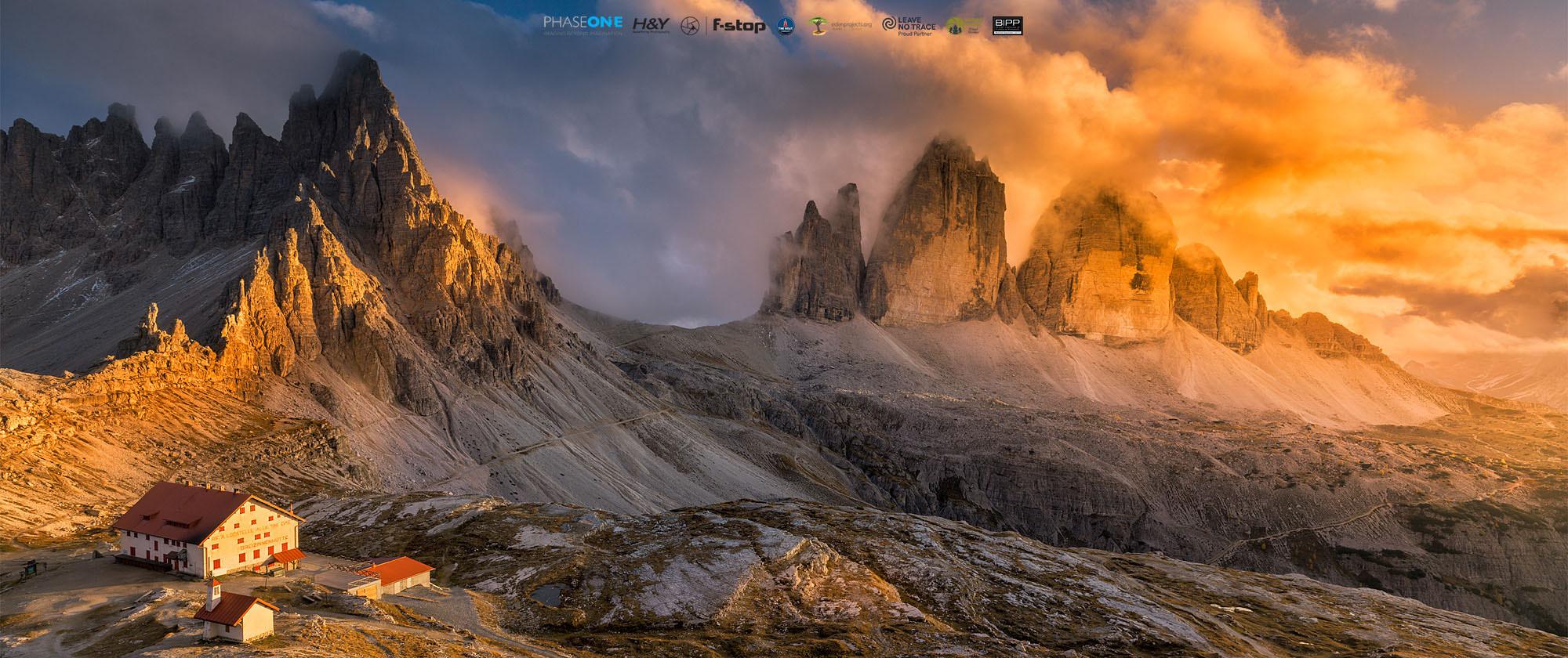 Tre Cime di Lavaredo, Dolomites (Italy, 2019)