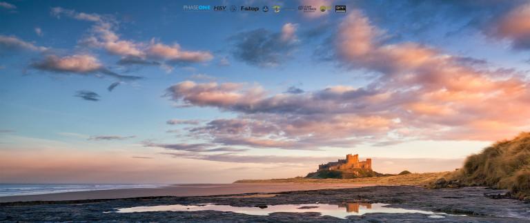 Bamburgh Castle, Northumberland (UK, 2020)